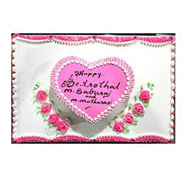 Birthday Cakes- Shape Design- Wb13089