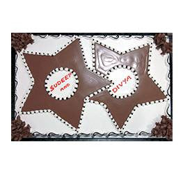 Birthday Cakes- Shape Design- Wb13109