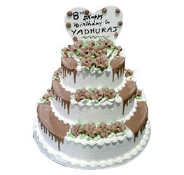 Wedding Cakes- Tier Cakes- Wb-1040