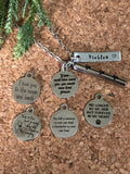 Pawprint Cremation Urn Pendant - Pet Memorial Necklace