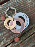 3 Layer Washer Dog Tag