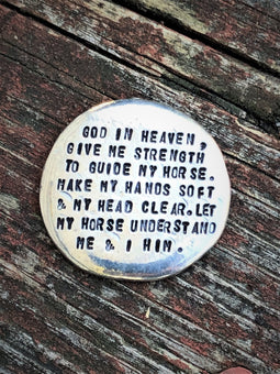 Horse Lover's Pocket Pebble