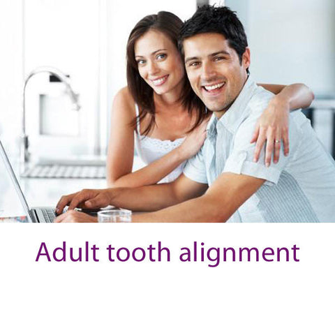 Adult tooth alignment