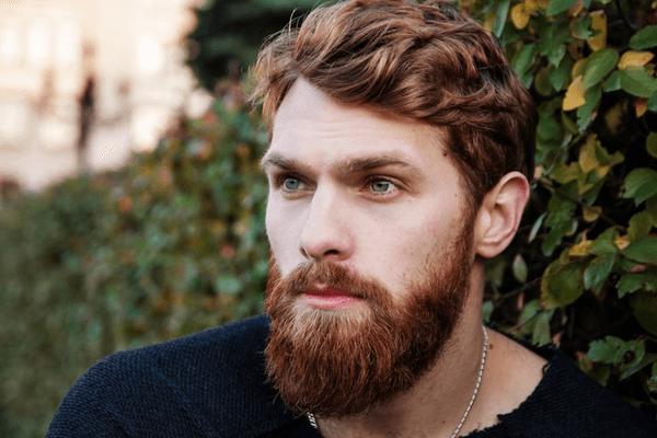 WHY BEARD HAIR IS A DIFFERENT COLOR THAN YOUR HEAD HAIR