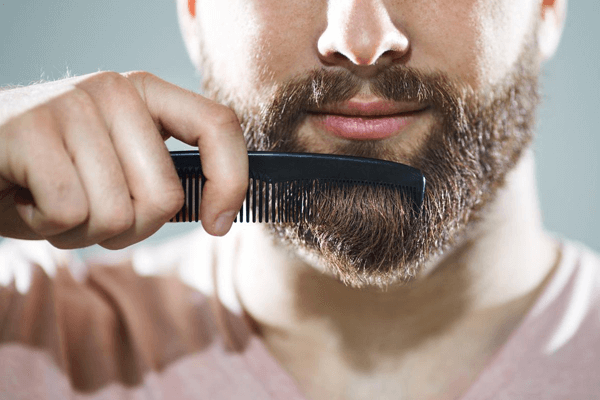 HOW TO MAKE A CURLY BEARD STRAIGHT