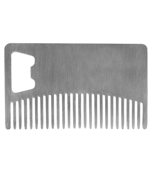 Stainless Steel Beard Comb (Pocket Size)