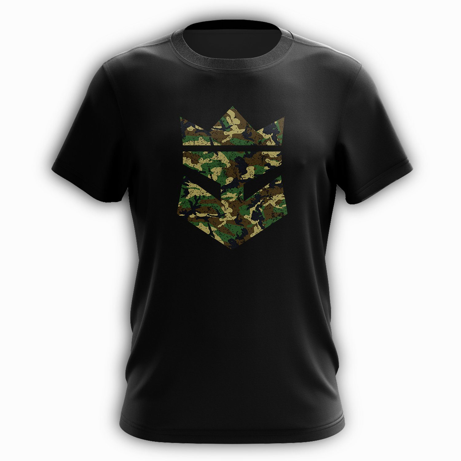 Beard King Tee - Army