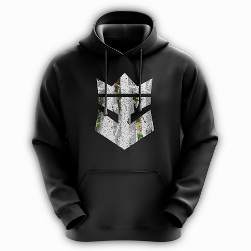 Beard King Hoodie - Army Grey