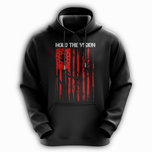 Beard Nation Hoodie - Red
