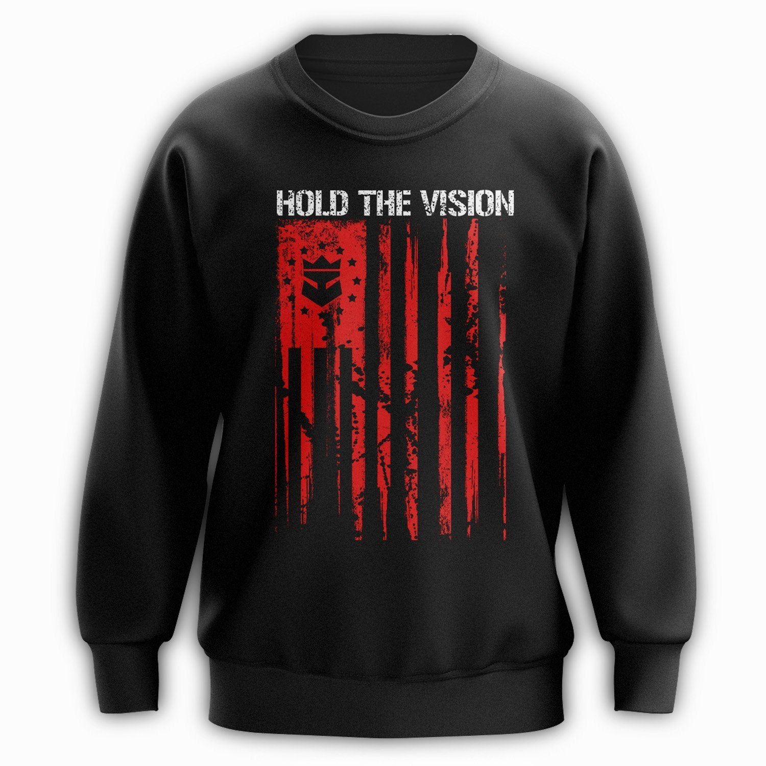 Beard Nation Crewneck - Red