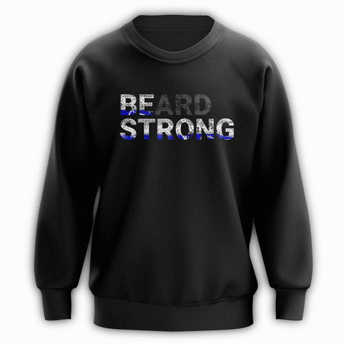 Beard Strong Sweatshirt - Blue