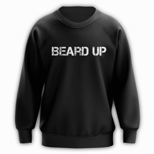 Beard Up Crewneck - Raw