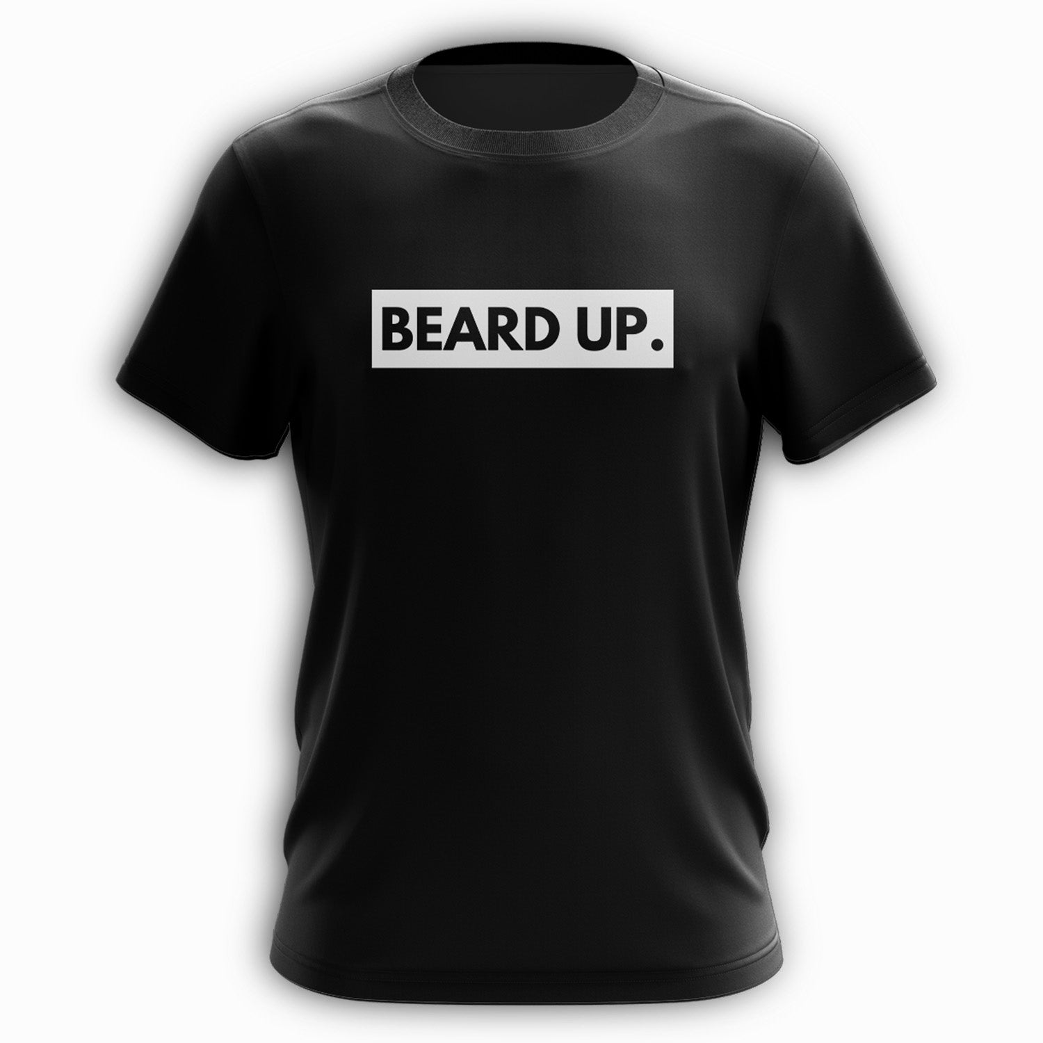 Beard Up Tee - B&W