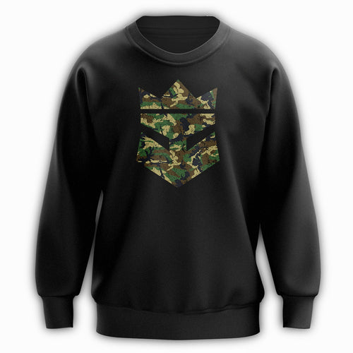 Beard King Sweatshirt - Army