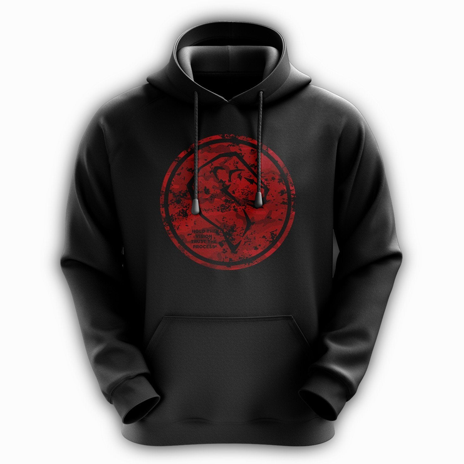 Logo Hoodie - Army Red
