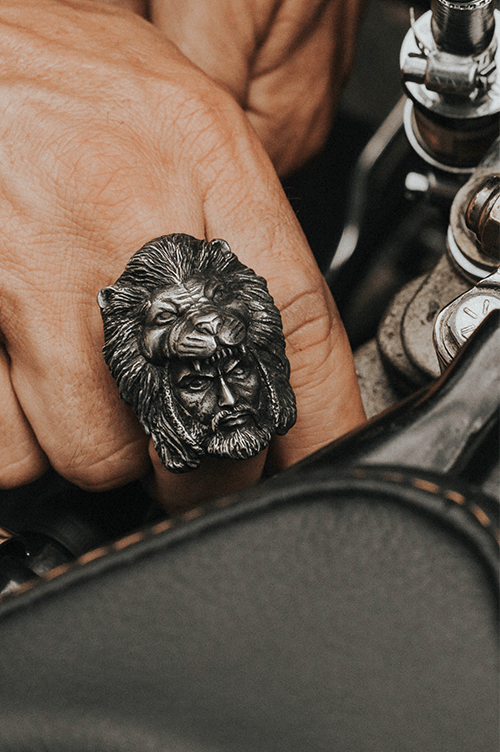 ''Fearless Hercules'' Ring