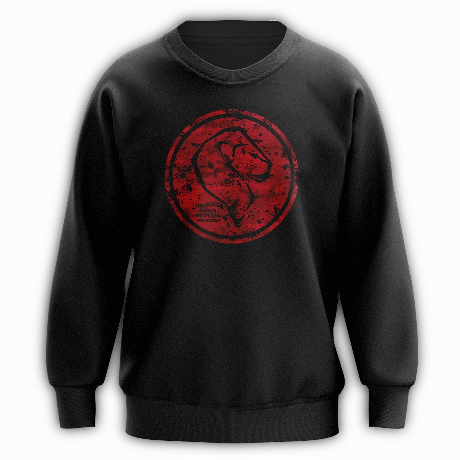 BM Logo Crewneck - Army Red