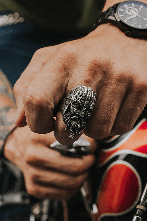 ''Viking King Ragnar'' Ring