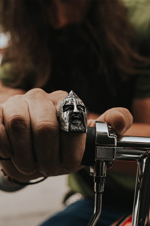 ''Spartan King Leonidas'' Ring