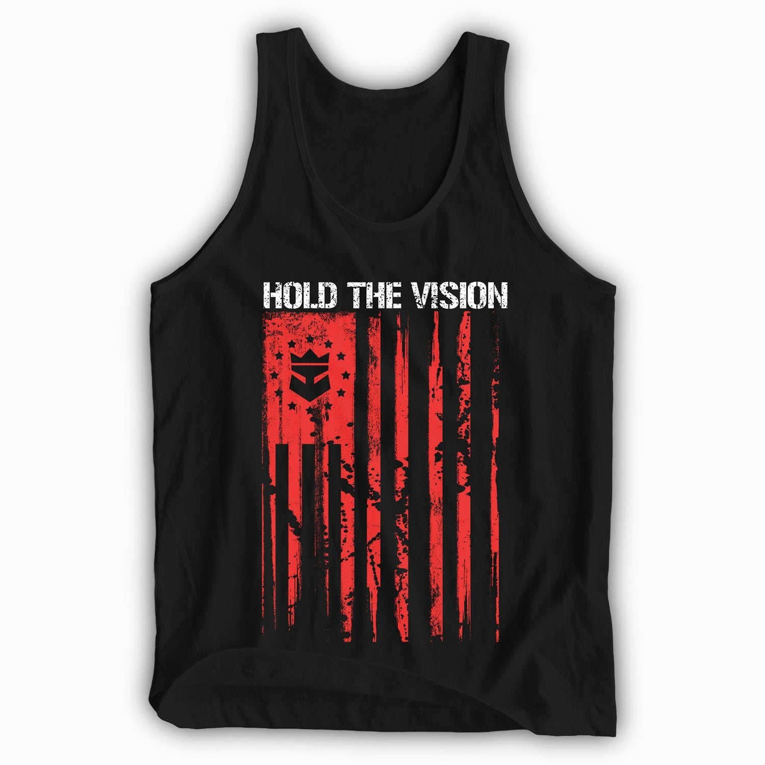 Beard Nation Tank Top - Red