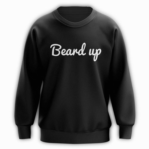 Beard Up Crewneck - Vibes