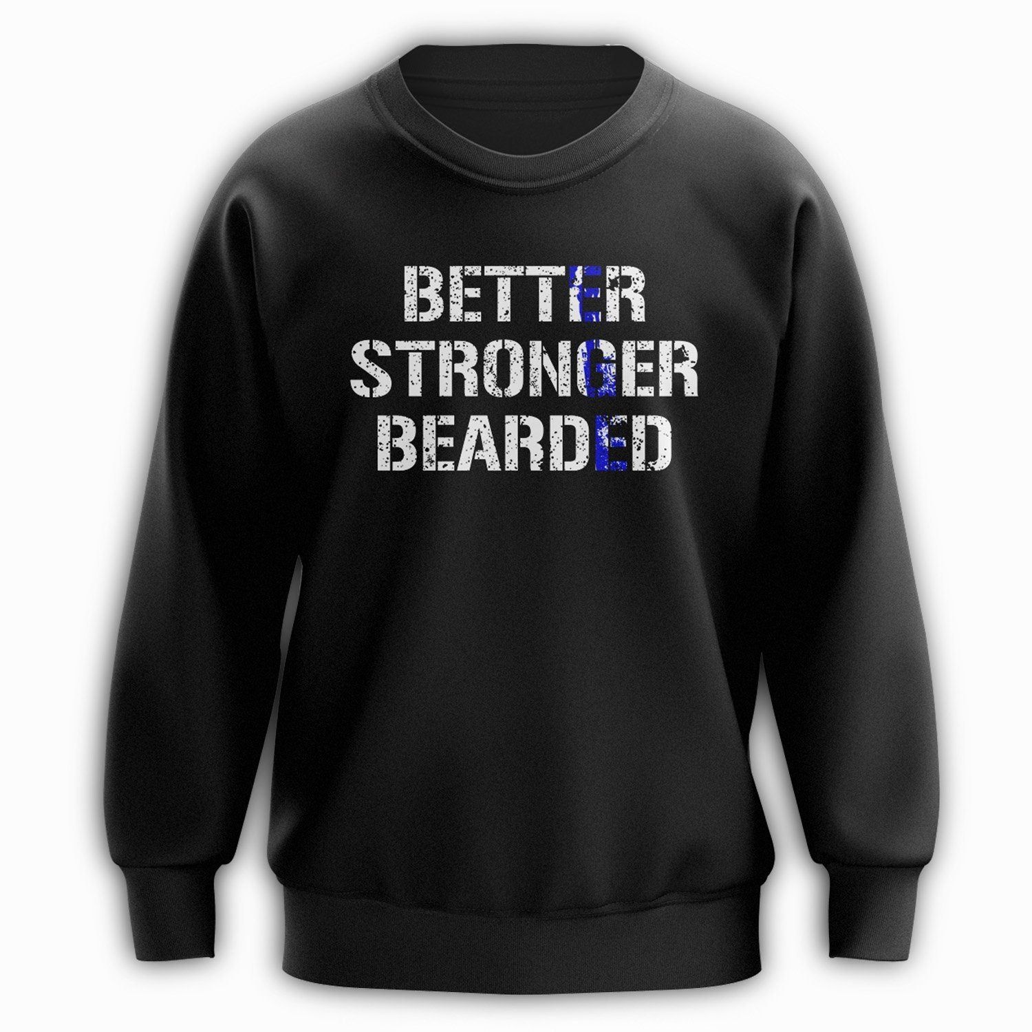 Stronger Crewneck - Blue