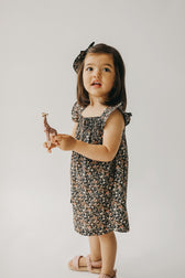 Organic Cotton Kennedy Dress - Luca Floral