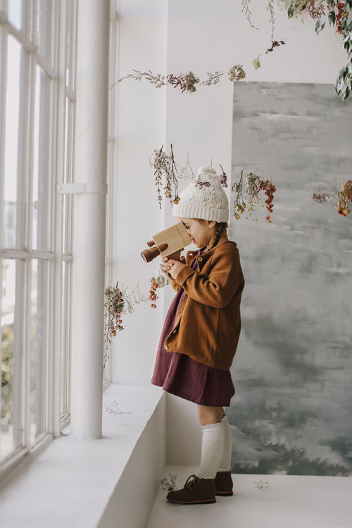 Simple Cardigan - Camel