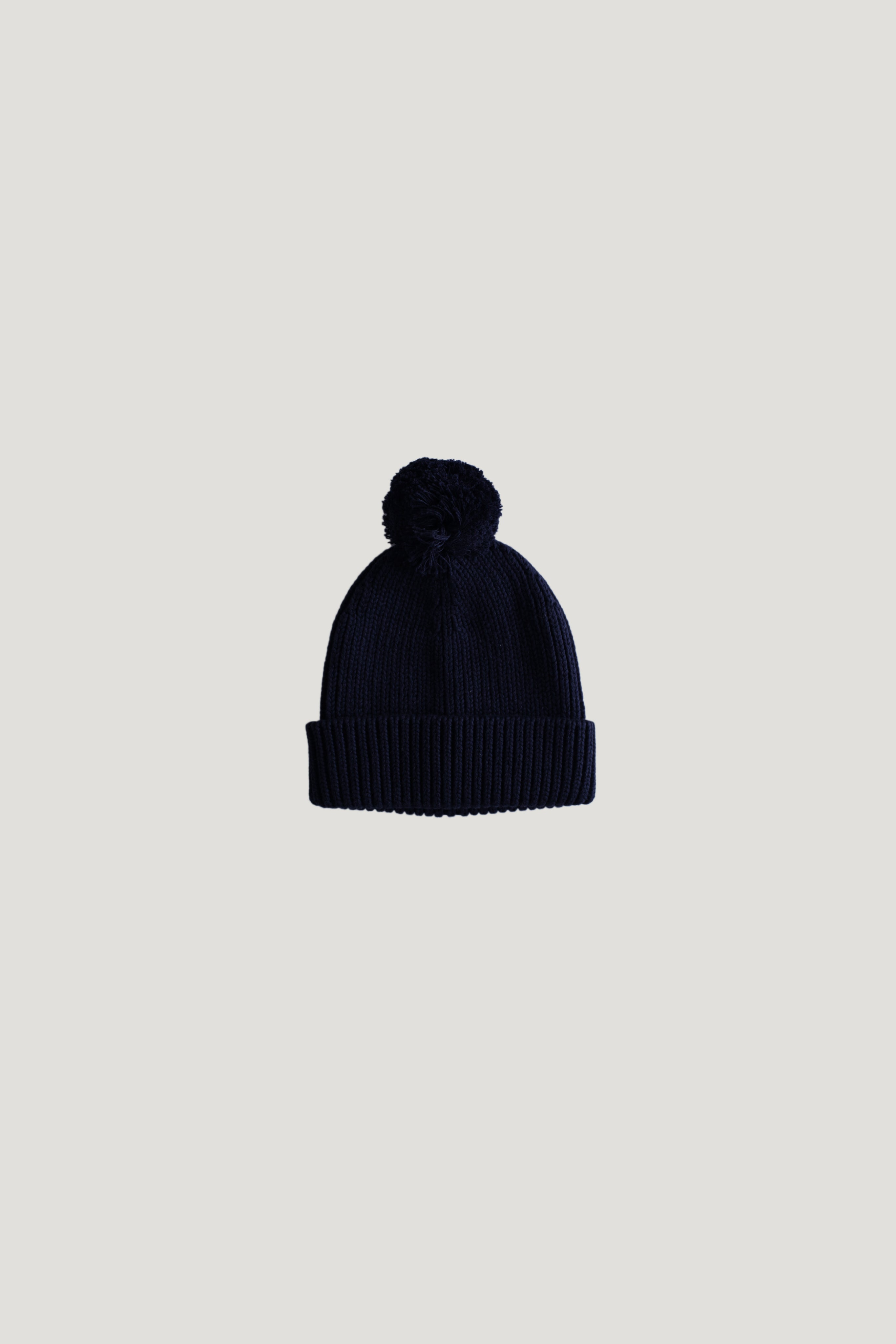 Pom Pom Hat - Midnight