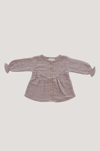 Ava Blouse - Light Grey