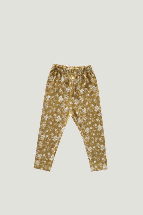 Legging - Golden Floral