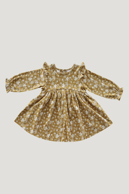 Dress - Golden Floral