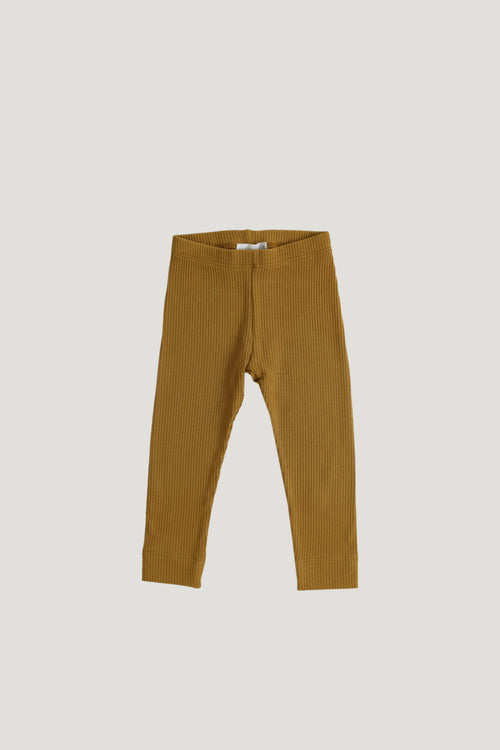 Cotton Modal Legging - Golden
