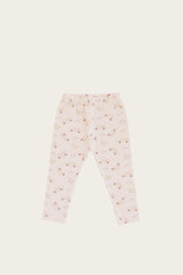 Organic Cotton Leggings - Sweet Pea Floral