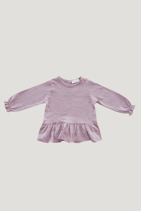 Slub Cotton Bailey Top - Odessa