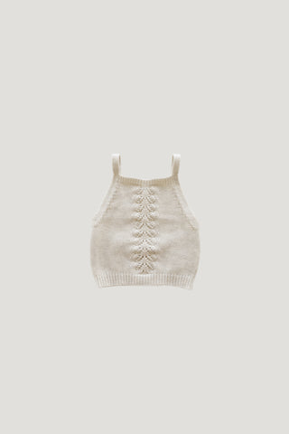 Organic Cotton Muslin Wrap Top - Bronze