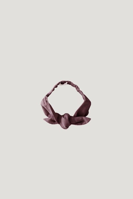 Organic Cotton Muslin Headband - Rose Taupe