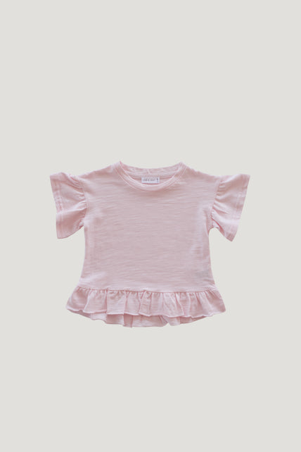 Slub Cotton Eden Top - Sugar Plum