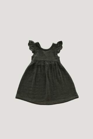 Organic Cotton Muslin Luna Playsuit - Sage