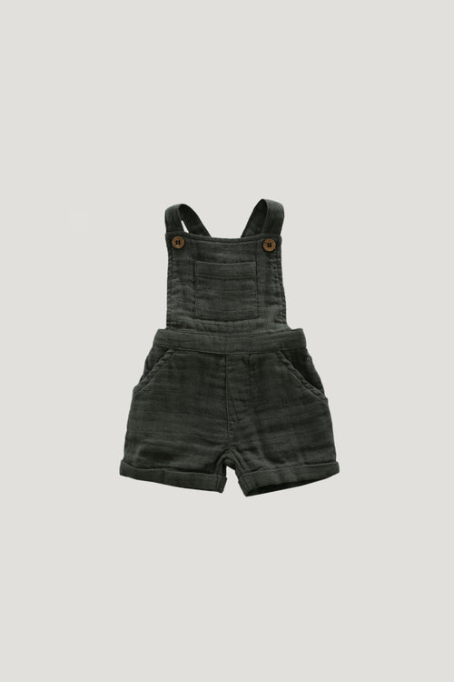Organic cotton muslin Hugo Overall - Juniper