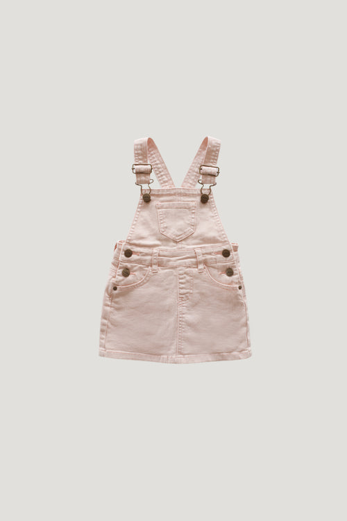 Chloe Denim Overall Dress - Petal