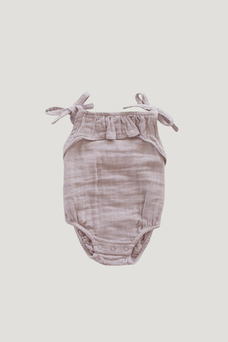 Organic Cotton Muslin Luna Playsuit - Wisteria
