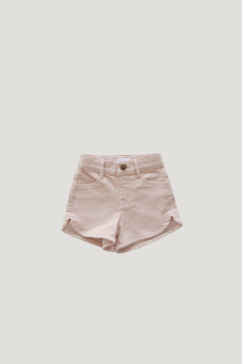 Daisy Denim Short - Petal