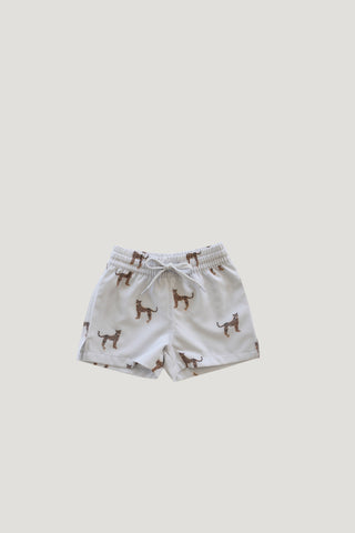 Organic Cotton Footed Pant - Sweet William Floral