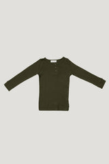 Original Cotton Modal Henley - Olive