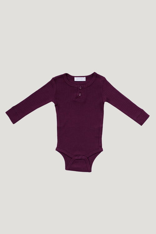 Cotton Bodysuit - Fig