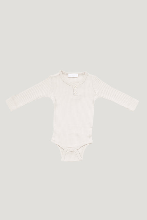Cotton Modal Bodysuit - Milk