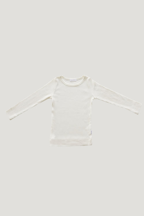 Original Cotton Modal Essential Top - Milk