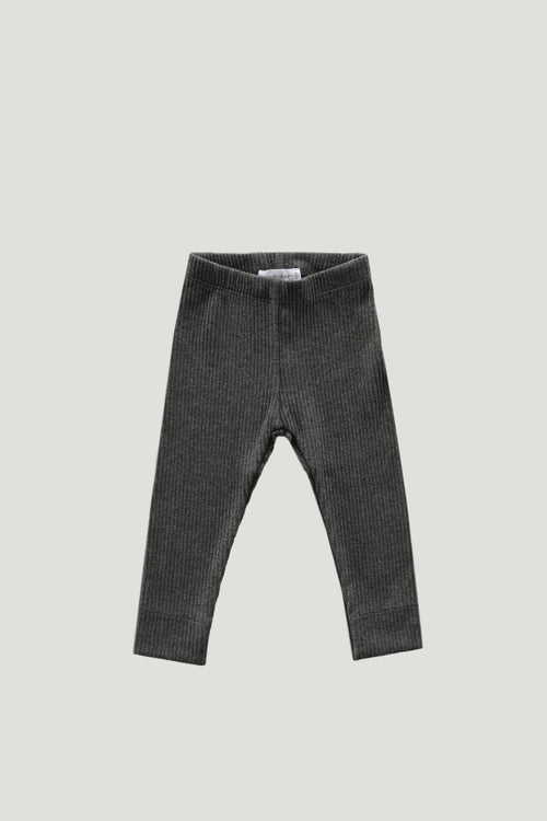 Original Cotton Legging - Dark grey Marle