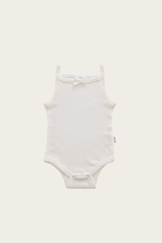 Original Cotton Modal Short Sleeve Tee Bodysuit - Sage